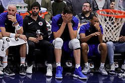 October 23, 2018 - New Orleans, LA, U.S. - NEW ORLEANS, LA - OCTOBER 23:  LA Clippers center Boban Marjanovic (51) reacts to a play against New Orleans Pelicans on October 23, 2018, at Smoothie King Center in New Orleans, LA. (Photo by Stephen Lew/Icon Sportswire) (Credit Image: © Stephen Lew/Icon SMI via ZUMA Press)