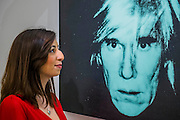 ANDY WARHOL Self-Portrait (Fright Wig), 1986 Estimate $7,000,000-10,000,000 - Sotheby's previews New York sales of Impressionist, Modern and Contemporary Art.   London Exhibition Dates 9- 13 April 2016, New York Sale Dates Impressionist & Modern Art Evening Sale: 9 May 2016 and Contemporary Art Evening Auction: 11 May 2016