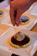 Chocolate torte and coffee icecream, Sitka, Alaska