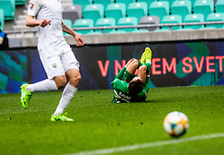 Savic Stefan of NK Olimpija Ljubljana during football match between NK Olimpija Ljubljana and NK Rudar Velenje in 25rd Round of Prva liga Telekom Slovenije 2018/19, on April 7th, 2019 in Stadium Stozice, Slovenia Photo by Matic Ritonja / Sportida