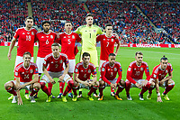Football - 2017 / 2018 _Wales v Austria_FIFA World Cup Qualifier 2018<br /> <br /> Wales team picture --- at Cardiff City Stadium.<br /> <br /> COLORSPORT/WINSTON BYNORTH