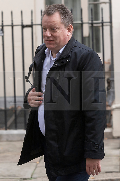 © Licensed to London News Pictures. 26/11/2020. London, UK. British EU chief negotiator Lord David Frost leaves Downing St after attending meetings. Photo credit: London News Pictures