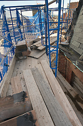 Fairfield County Courthouse GA 2 Renovations. Replace Roof and Masonry Repairs CT Dept of Public Works Project # BI-JD-305. Progress Photography Shoot 5: 21 October 2011. Located on Golden Hill Streets in Bridgeport CT, this Richardsonian Romanesque style public building, was designed by Warren R. Briggs. Originally completed and opened in 1888 and has undergone several additions and expansions since.