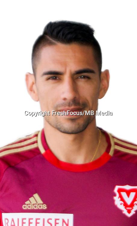 25.07.2016; Vaduz; Fussball Super League - Portrait FC Vaduz;<br />Gonzalo Zarate