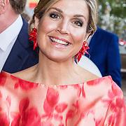 NLD/Amsterdam/20150604 - Koningspaar aanwezig bij de opening van het Holland Festival, Koningin Maxima