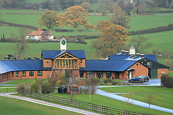 23rd November 2017 - Michael Owen Horse Racing - A general view (GV) of Manor House Stables in Cheshire - Photo: Simon Stacpoole / Offside.