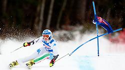 Denise Karbon of Italy during 1st Run of 48th Golden Fox Audi Alpine FIS Ski World Cup Ladies Giant Slalom, on January 21, 2012 in Podkorn, Kranjska Gora, Slovenia. (Photo By Matic Klansek Velej / Sportida.com)