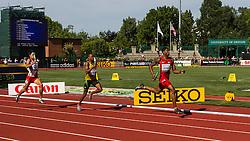 mens 4x400 relay, Hyde, Jamaica, Cherry, USA