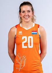 Tessa Polder of Netherlands, Photoshoot selection of Orange women's volleybal team season 2021on may 12, 2021 in Arnhem, Netherlands (Photo by RHF Agency/Ronald Hoogendoorn)