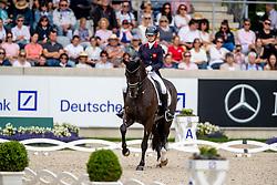 Fry Charlotte, GBR, Dark Legend<br /> CHIO Aachen 2019<br /> Weltfest des Pferdesports<br /> © Hippo Foto - Stefan Lafrentz<br /> Fry Charlotte, GBR, Dark Legend