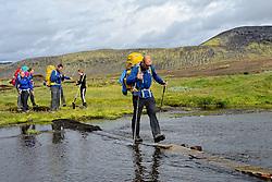 09-07-2014 ISL: Iceland Diabetes Challenge Dag 5, Emstrur<br /> Van Alftavatn naar Emstrur / Harold Pijfers-Bensing