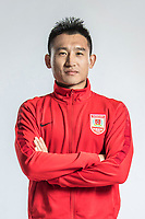 **EXCLUSIVE**Portrait of Chinese soccer player Tan Tiancheng of Changchun Yatai F.C. for the 2018 Chinese Football Association Super League, in Wuhan city, central China's Hubei province, 22 February 2018.