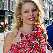 NLD/Amsterdam/20100708 - Presentatie juwelen Sheila de Vries bij MK Jewelry, Marlies Katy