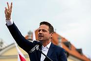 Wiec wyborczy Rafała Trzaskowskiego w Białymstoku