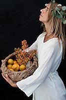 Woman Sacred Food Woman
