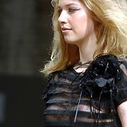 NLD/Amsterdam/20070307 - Modeshow Monique Collignon voorjaar 2007, model, mannequin, catwalk