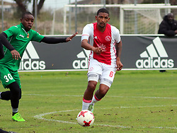 Ajax Cape Town midfielder Morne Nel in a friendly game v NFD club Cape Town All Stars at Ikamva on August 10, 2017 in Cape Town, South Africa.