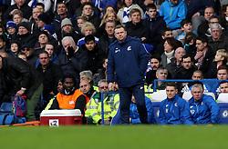 Scunthorpe United Manager Mark Robins - Mandatory byline: Robbie Stephenson/JMP - 10/01/2016 - FOOTBALL - Stamford Bridge - London, England - Chelsea v Scunthrope United - FA Cup Third Round