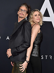 """Premiere of 20th Century Fox's """"Ad Astra"""". The Cinerama Dome, Hollywood, California. Pictured: Cory Hardrict. EVENT September 18, 2019. 18 Sep 2019 Pictured: Steven Tyler,Aimee Preston. Photo credit: AXELLE/BAUER-GRIFFIN / MEGA TheMegaAgency.com +1 888 505 6342"""