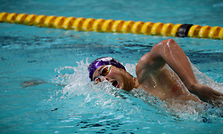 11082018 (Durban) Top Swimmer Marne Frylinck competing in Woman 100 meters Medley heat 11 during the coastal city of Durban play host to the 2018 SA National Swimming Championships (25m), with the action set to start from 9th to 12th August at the Kings Park Aquatics Centre.<br /> Picture: Motshwari Mofokeng/African News Agency (ANA)