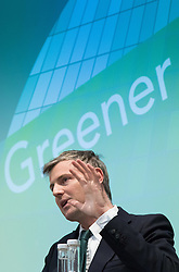 Royal Society of Medicine, London, March 4th 2016. Conservative Party mayoral candidate Zac Goldsmith at the Greener London Mayoral hustings held at the Royal Society of Medicine in London. ///FOR LICENCING CONTACT: paul@pauldaveycreative.co.uk TEL:+44 (0) 7966 016 296 or +44 (0) 20 8969 6875. ©2015 Paul R Davey. All rights reserved.