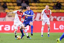 January 19, 2019 - Monaco, France - 44 CESC FABREGAS (MONA) - 25 LUDOVIC AJORQUE  (Credit Image: © Panoramic via ZUMA Press)