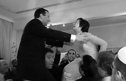 ANTWERP, BELGIUM - Wedding celebration.
