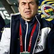 Fenerbahce's coach Aykut Kocaman during their Turkish superleague soccer match Fenerbahce between Genclerbirligi at the Sukru Saracaoglu stadium in Istanbul Turkey on Saturday 03 March 2012. Photo by TURKPIX