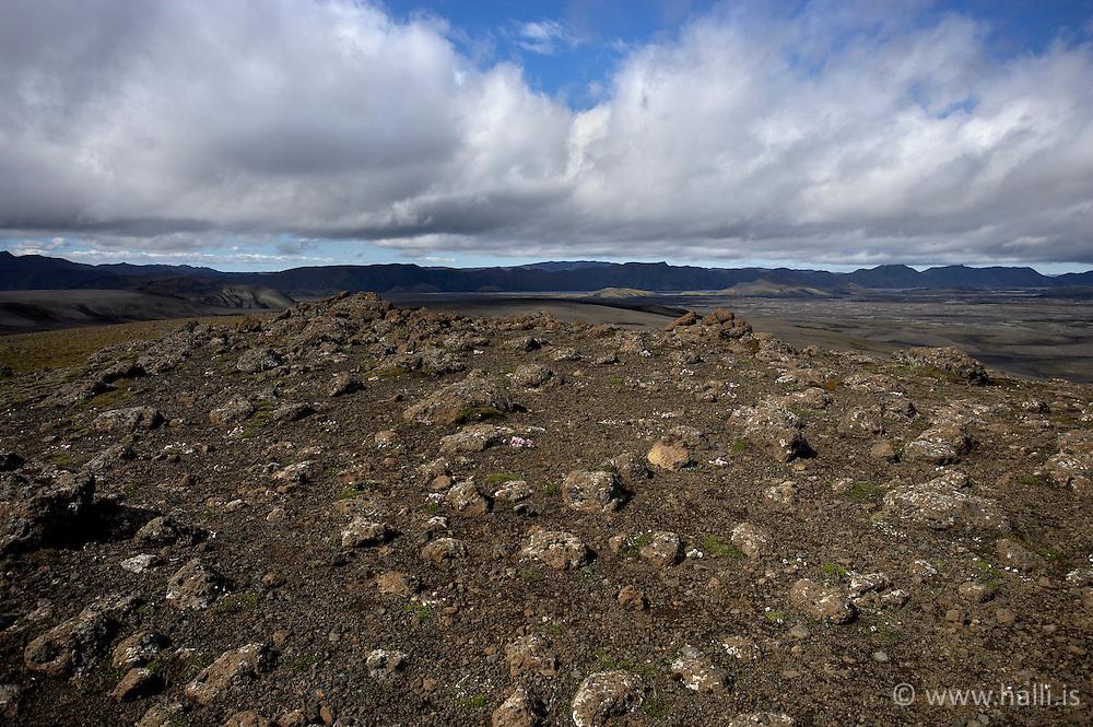 From Lakagígar, Laki in the highlands of Iceland - Lakagígar, Laki með