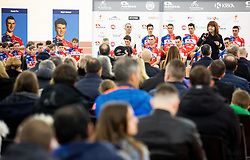 Mojca Novak during presentation of cycling club KK Adria Mobil before new season 2019, on February 14, 2019 in Velodrom Cesca vas, Novo mesto, Slovenia. Photo by Vid Ponikvar / Sportida