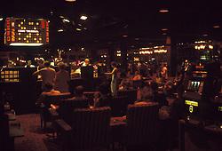 Las Vegas Casino interior shot, The Frontier Hotel & Casino. July 1973