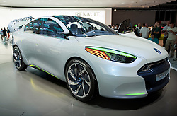 New Renault ZE concept for electric vehicle at Frankfurt Motor Show 2009