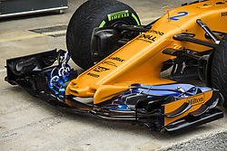 May 10, 2018 - Barcelona, Catalonia, Spain - New front wing of Mclaren Renault during the Spanish Formula One Grand Prix at Circuit de Catalunya on May 10, 2018 in Montmelo, Spain. (Credit Image: © Xavier Bonilla/NurPhoto via ZUMA Press)