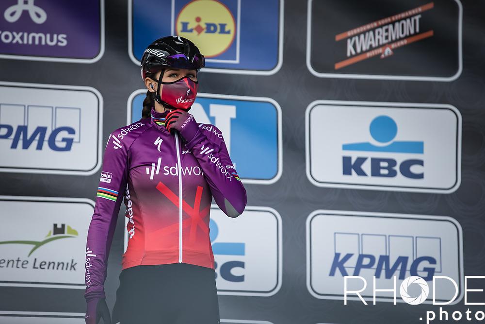 Chantal van den Broek-Blaak (NED/SDWorx)<br /> <br /> Women's Elite Brabantse Pijl 2021 <br /> 1 Day Race: Lennik - Overijse 127km<br /> <br /> ©Rhode.Photo