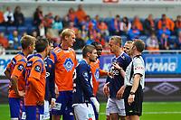 08.07.2012, Tippeligaen, Color Line stadio, Eliteserien, Aafk - Viking,Björn Andersson,Jason Morrison - aalesund, Foto: Kenneth Hjelle Digitalsport
