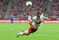 Fotball<br /> EM 2012<br /> 08.06.2012<br /> Polen v Hellas<br /> Foto: Witters/Digitalsport<br /> NORWAY ONLY<br /> <br /> Maciej Rybus (Polen)<br /> Fussball EURO 2012, Vorrunde, Gruppe A, Polen - Griechenland
