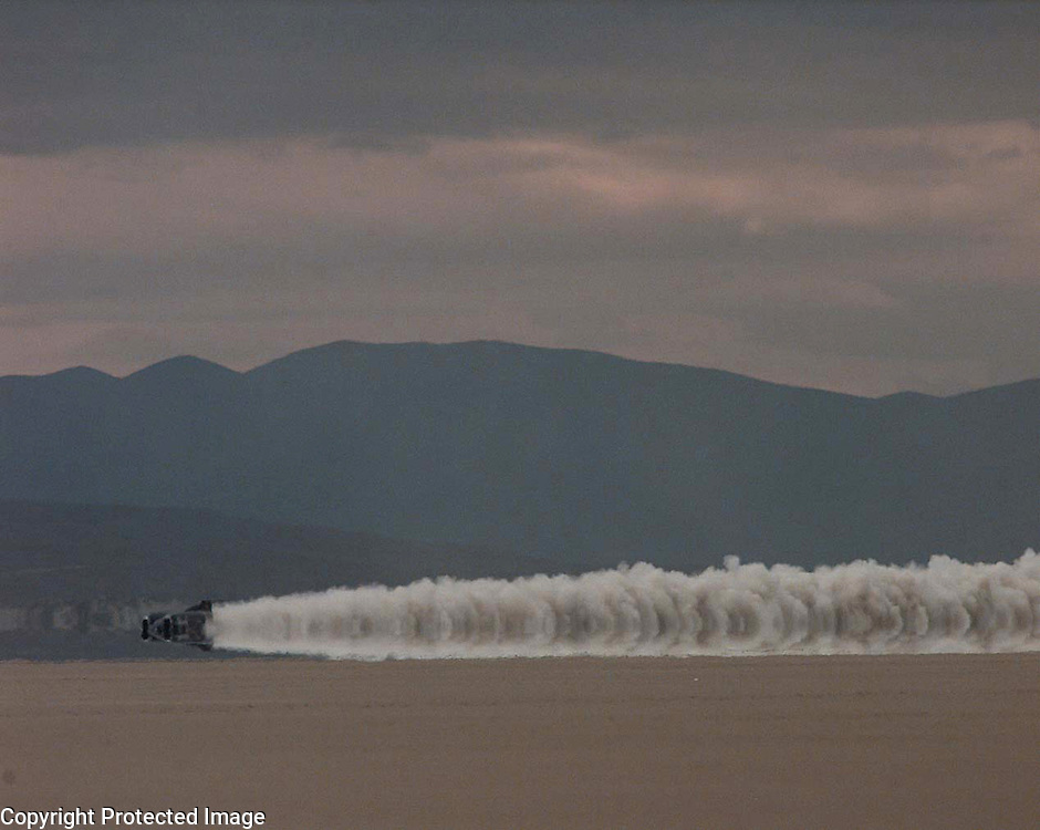 PIC BY PAUL GROVER PIC WORLD RECORD THRUST SSC ON BLACK ROCK DESERT PIC PAUL GROVER