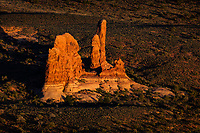 Pinnacles in Arches National Park