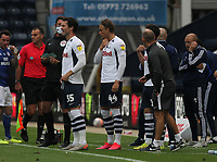 Preston North End's Manager Alex Neil makes a triple substitution<br /> <br /> Photographer Mick Walker/CameraSport<br /> <br /> The EFL Sky Bet Championship - Preston North End v Cardiff  City - Saturday 27th June 2020 - Deepdale Stadium - Preston<br /> <br /> World Copyright © 2020 CameraSport. All rights reserved. 43 Linden Ave. Countesthorpe. Leicester. England. LE8 5PG - Tel: +44 (0) 116 277 4147 - admin@camerasport.com - www.camerasport.com
