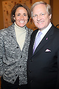 l to r: Mary Carillo and David Frei at The133rd Westminister Kennel Club Dog Show Press Conference announcing The Dogue De Bordeaux debut at the Westminister Kennel Club Dog Show held at the Pennsylvania Hotel Sky Top Ball Room on February 5, 2009 in New York City