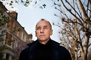 Swedish writer Håkan Nesser photographed in London.