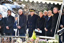French minister of transport Elisabeth Borne attends the 20th anniversary tribute of the Mont Blanc Tunnel fire ( March 1999) in Chamonix, French Alps on March 24, 2019. Photo by Julien Zannoni/ABACAPRESS.COM