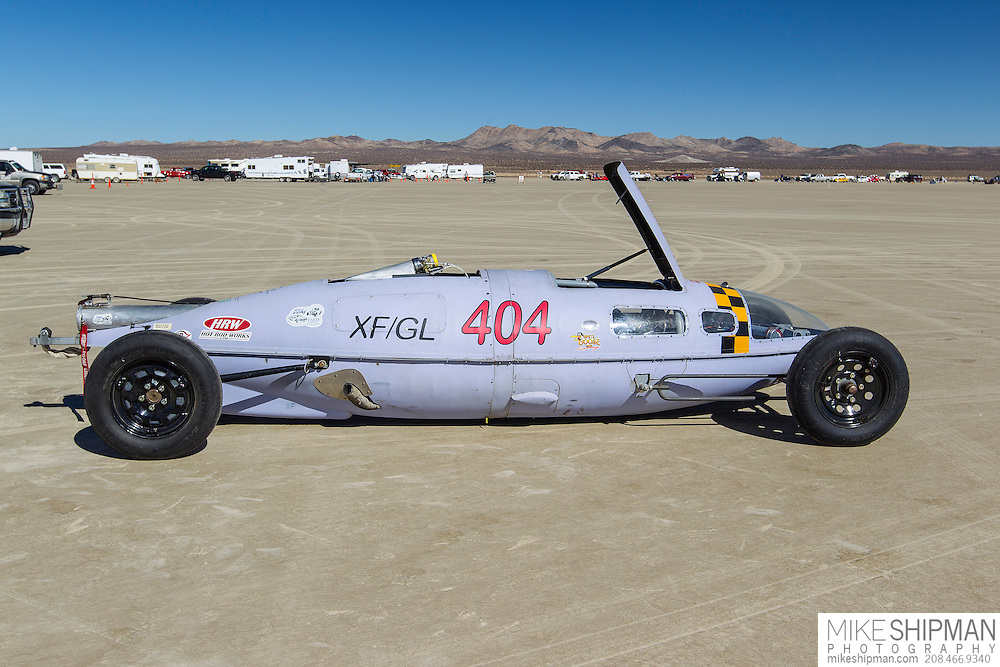ELMO Rodge Racing, 404, eng XF, body GL, driver Wayne Yeats, 104.929 mph, record 174.011