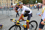Egan Bernal (COL - Team Sky) during the 105th Tour de France 2018, Stage 21, Houilles - Paris Champs-Elysees (115 km) on July 29th, 2018 - Photo Kei Tsuji / BettiniPhoto / ProSportsImages / DPPI