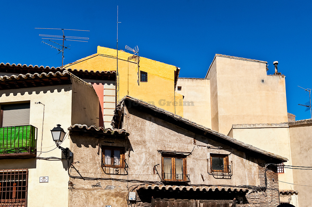 Traditional houses, Toledo, Spain