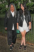 LONDON - JUNE 26: John Rocha attended the Serpentine Gallery summer party, Kensington Gardens, London, UK. June 26, 2012. (Photo by Richard Goldschmidt)