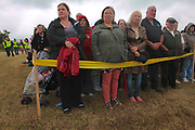 Dungiven, NI: August 5, 2012. An estimated 15-20 thousand participants in National Hunger Strike Commemoration.marchers meet to commemorate the deaths of