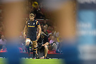 Leigh Halfpenny of Wales in action. Wales v Italy, RWC warm up international match at the Millennium Stadium in Cardiff ,South Wales on Saturday 5th Sept  2015. pic by Andrew Orchard, Andrew Orchard sports photography.