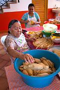 La Tia Anita, Tamale makers, Vallarta Food Tours, El Pitillal, Puerto Vallarta, Jalisco, Mexico