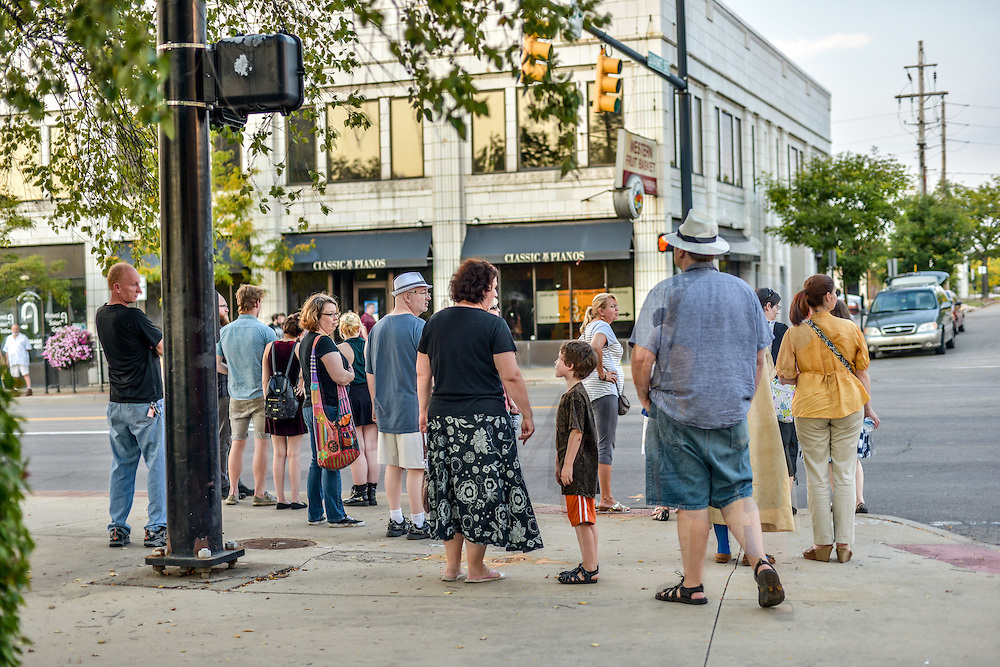 Gallery hopping during opening weekend of Akron Art Prize 2015